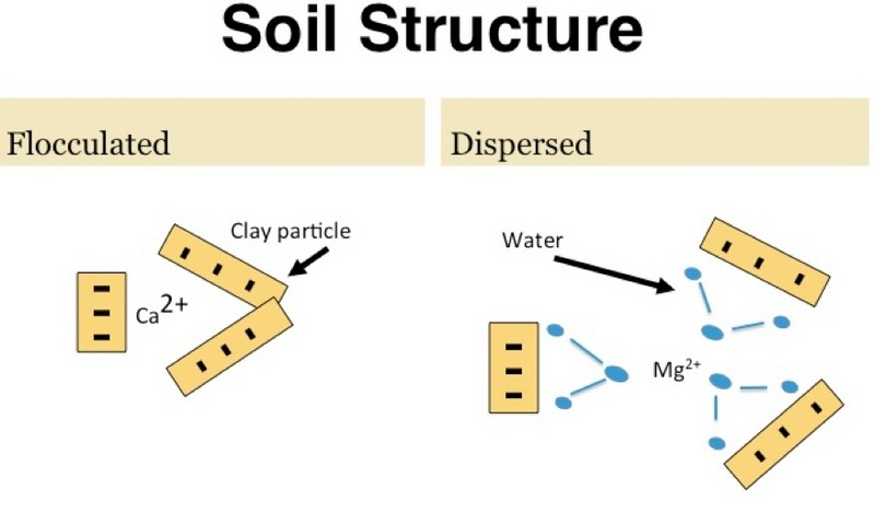 Tight Clay Soils, Calcium Sulfate | How it works
