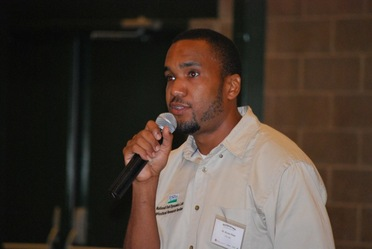 Dr. Dexter B Watts, a research soil scientist with the National Soil Dynamics Laboratory, USDA-ARS in Auburn, AL, spoke on soil and water quality impact of using gypsum.