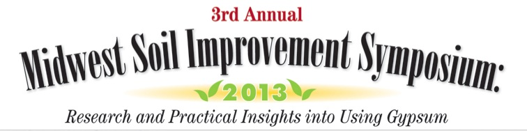 2013 Midwest Soil Improvement Symposium